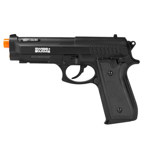 Pistola De Airsoft À Gás Co2 Swiss Arms Pt92 Bax Nylon Fiber