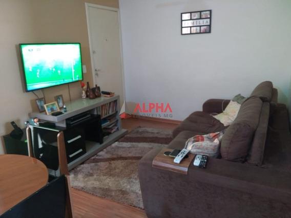 Apartamento De 02 Quartos No Bairro Jardim Riacho Em Contagem - 7744
