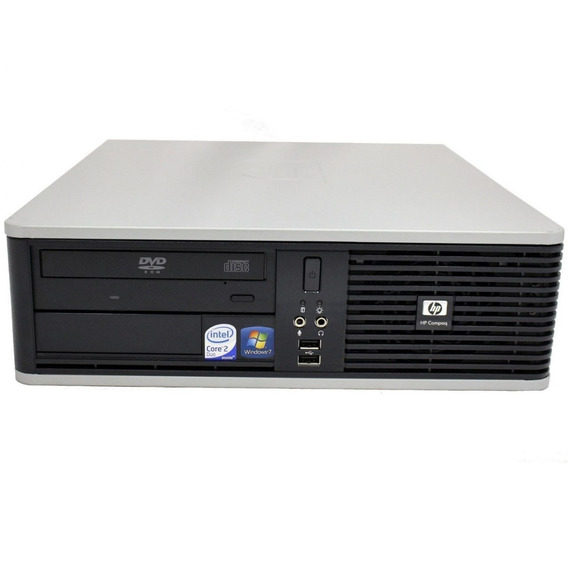 Cpu Hp Core 2 Duo 4gb Hd 80 + Monitor 17