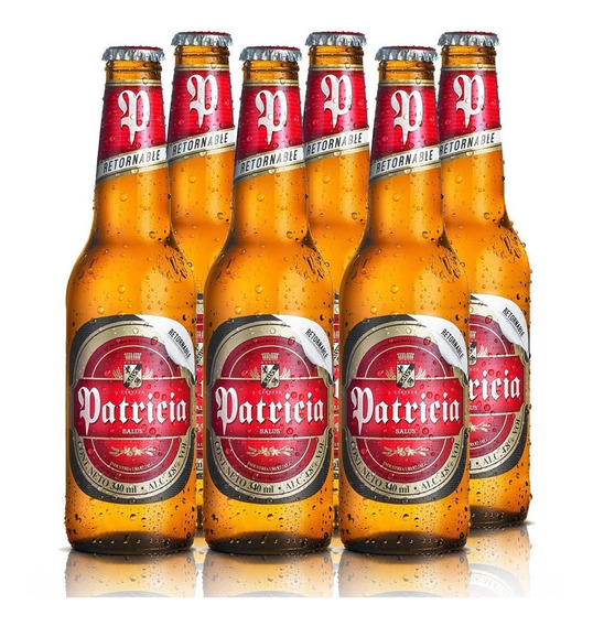 Cerveza Patricia 340 Cc X6