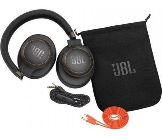 Fone De Ouvido Headphone Jbl Live 650 Btnc Black Wireless