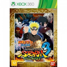 Naruto Ultimate Ninja Storm 3 Full Burst - Xbox 360/original