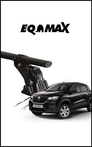 Rack De Teto Para Carro Em Eqmax Aço Renault Kwid Todos