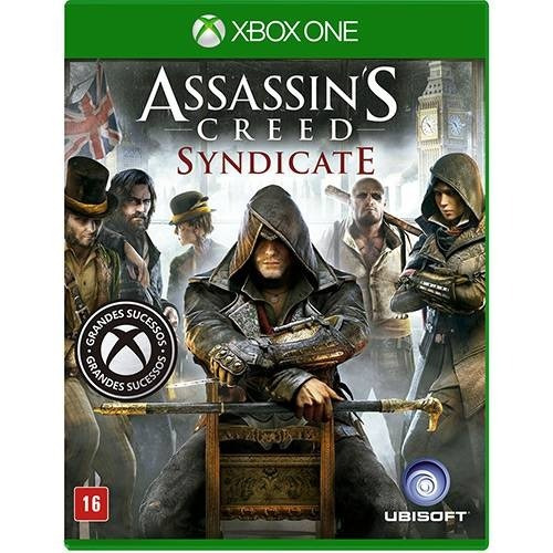 Xbox One Assassins Creed Syndicate Novo Lacrado