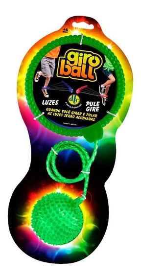 Giro Ball Pelota Blanda Soga Y Luz Para Saltar Original Full