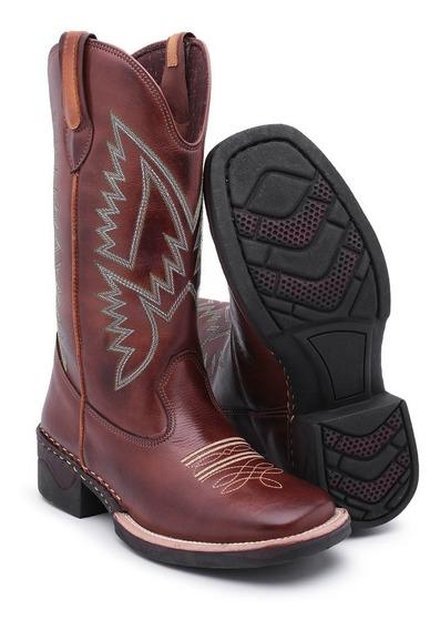 Bota Cowboy Masculina Cano Long Texana Promoção Black Friday