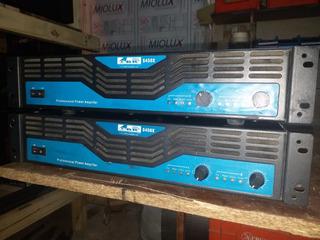 2 Potencias Amplificador Profesional Gbr S450 1400 Watts Rms
