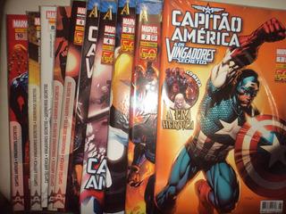 Capitao America E Os Vingadores Secretos 1 A 27 Frete Gratis