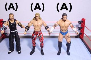 Wwe Figuras De Acción Cm Punk Jeff Hardy Undertaker Edge