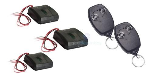 2 Controle Remoto Rossi + 3 Tx Car Farol Alto Dz3 Dz4 Nano