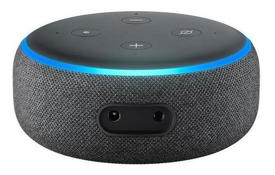 Speaker Amazon Echo Dot 3ª Geração 1.6 Bluetooth - Preto
