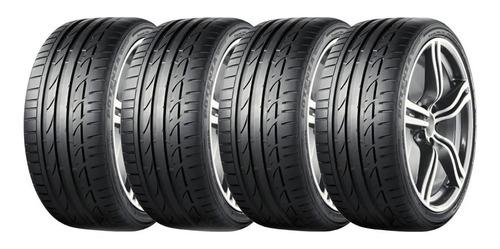 Kit X4 Bridgestone 225 45 R19 W Potenza S001 Rft Run Flat