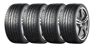 Kit X4 Bridgestone 225 45 R19 W Potenza S001 Rft Run Flat