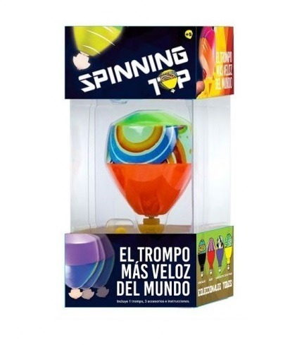 Trompo Spinning Top El Mas Veloz Del Mundo Babymovil Jyj420