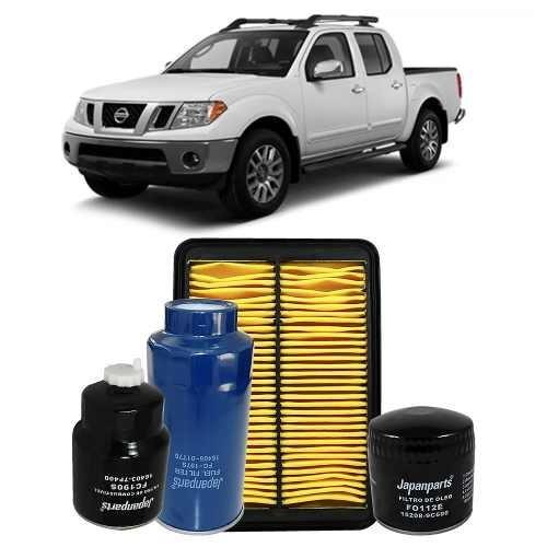 Kit De Filtros Nissan Frontier 2.5 2010 A 2012