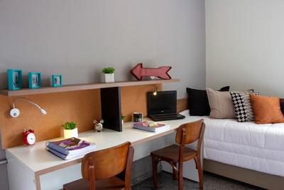 Flats Mobiliados Na Uliving Student Housing - Ape Individual