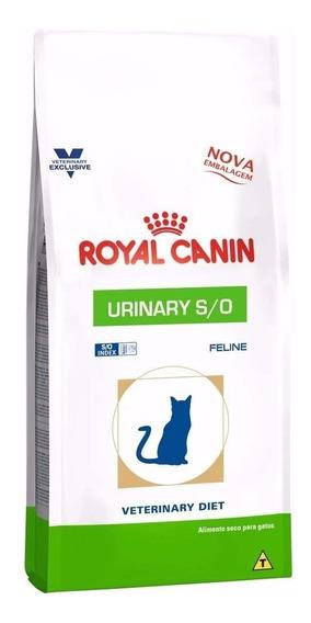 Ração Royal Canin Feline Veterinary Diet Urinary S/o 7,5 Kg