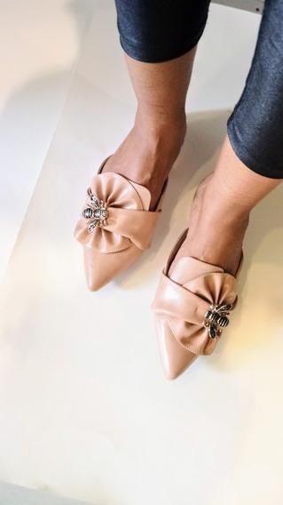 Sandália Mule Feminina Mariotta Tifa Shoes Último 35