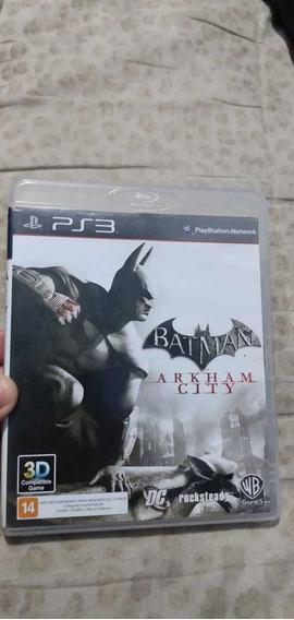 Jogo Batman Arklam City Para Ps3 Original