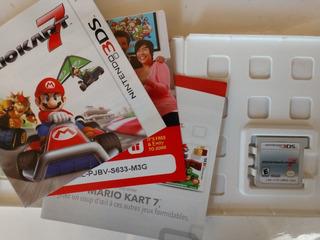 Mario Kart 7 3ds Seminuevo Original