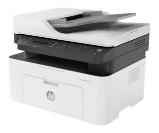 Impresora Laser Multifun Hp M137fnw Wifi Escaner Fotocopia