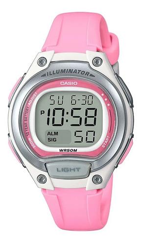Reloj Mujer Casio Lw-203-4a Rosado Digital / Lhua Store