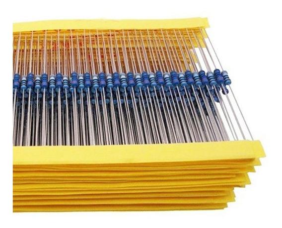 Kit Resistores 600 Peças - 30 Valores * 20 Peças Cada