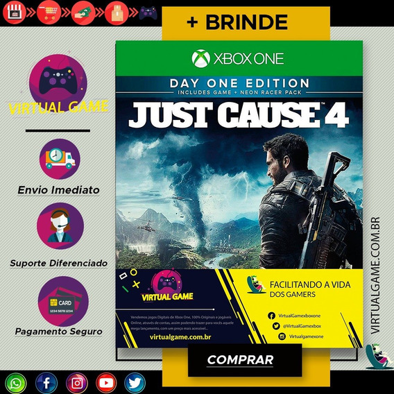 Just Cause 4 - Jogo Xbox One - Midia Digital