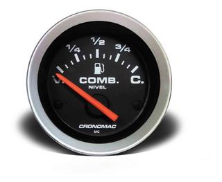 Manômetro Nível De Combustível 52mm Elétrico Sport
