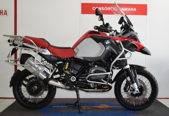 Bmw R 1200 Gs Adventure Vermelha