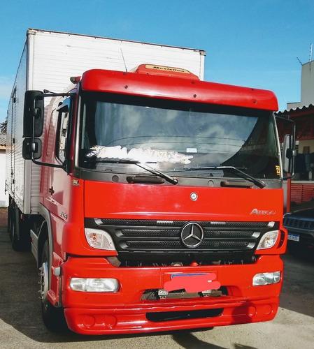 Imagem 1 de 8 de M. Benz Atego 2425 Atego Truck Baú 2425