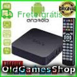 Tvbox Emulador Atari Snes Megadrive +7200 Jogs Envio P Email
