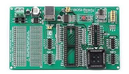 Kit Módulo De Desenvolvimento Com Microcontrolador 8051