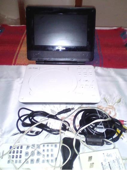 Dvd Portatil Toshiba Usado Para Repuesto Remato 8v!!