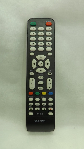 Controle Tv Cce Lcd 7974