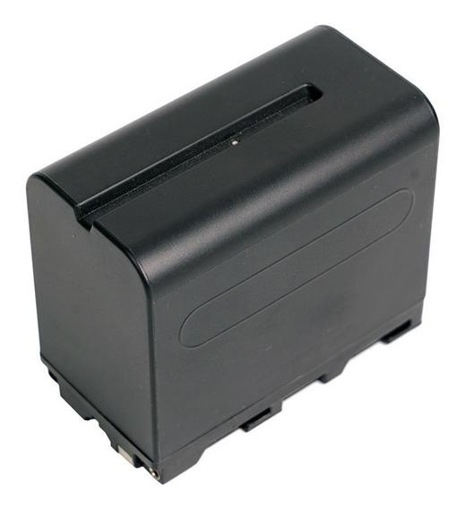 Bateria Np-f960/f970 Para Sony E Iluminadores (6600mah E 7.4v)