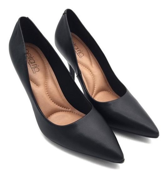 Zapato Mujer Stiletto Trabajo Taco Fino Alto Dama 4122.1100