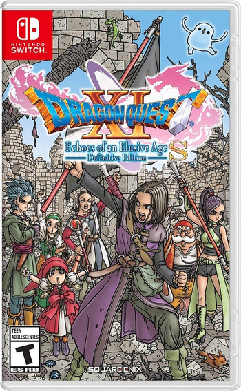 Dragon Quest Xi S Echoes Of An Elusive Age - Switch