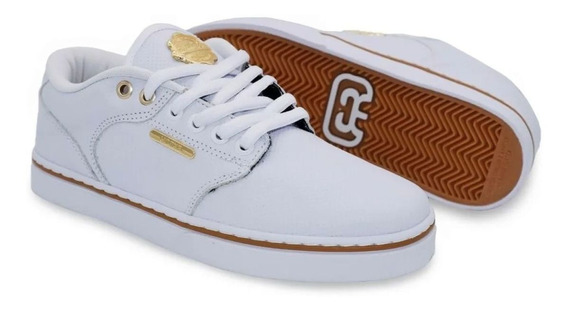 Tênis Hocks Skate - Montreal White/gold Branco/gold - Hocks