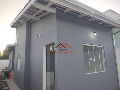 Imagem 1 de 15 de Casa Com 2 Dormitórios À Venda, 57 M² Por R$ 240.000 - Balneário Recanto Do Sol - Caraguatatuba/sp - Ca0566
