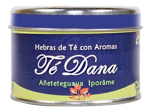 Lata De Té Aromatizados En Hebras Dana X50g -línea Gourmet
