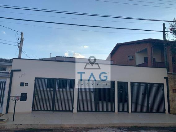 Casa Com 4 Dormitórios À Venda, 203 M² Por R$ 850.000 - Jardim Guarani - Campinas/sp - Ca0163