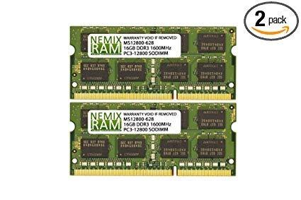 Memoria Ram Ddr3 1600 Nemix De 32 Gb, 2 X 16 Gb, Para Apple