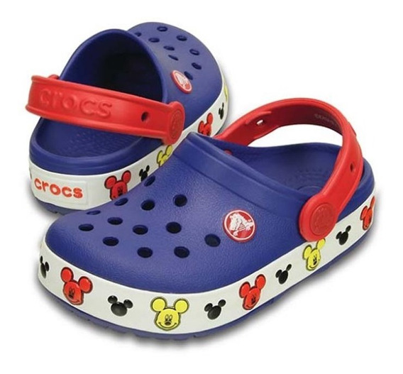 Zueco Crocs Crocban Mickey
