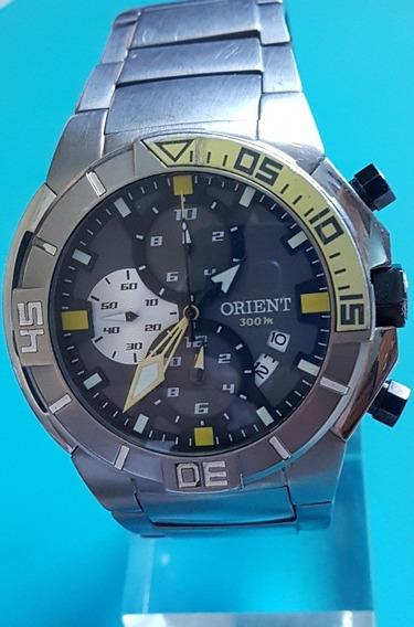 Orient Seatech Diving Titânio Cronógrafo