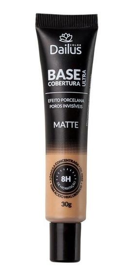 Base Dailus Matte Ultra Cobertura Bege Medio 06