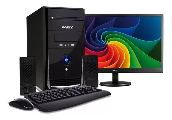 Promoção*cpu Core I5 8gb Hd 500+monitor Lcd 19 E Frete