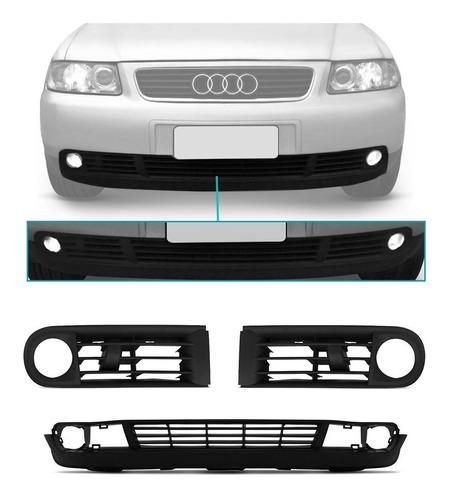Imagem 1 de 3 de Kit Spoiler Parachoque Audi A3 2001 2002 2003 2004 2005 06