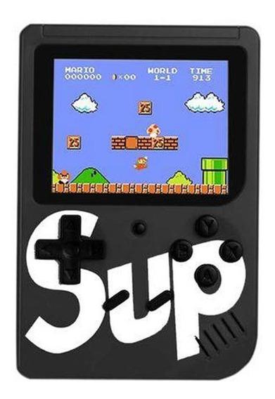 Mini Vídeo Game Boy Portátil G4 Com 400 Jogos Clássico Preto