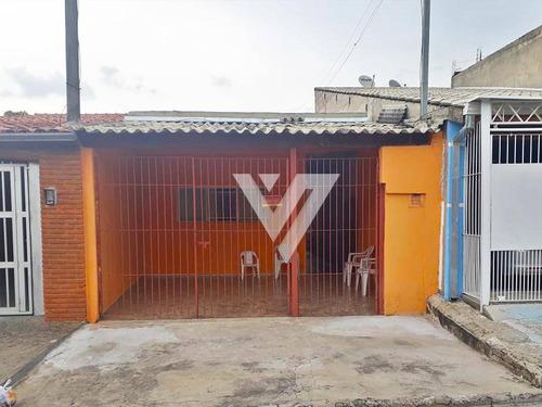 Casa Com 3 Dormitórios, Edícula E 2 Vagas Na Garagem, Jardim Atílio Silvano, Sorocaba - Sp - Ca1606